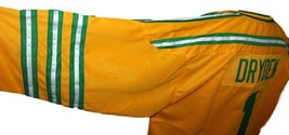 Dave Dryden #1 Chicago Cougars Retro Hockey Jersey New Yellow Any Size image 4