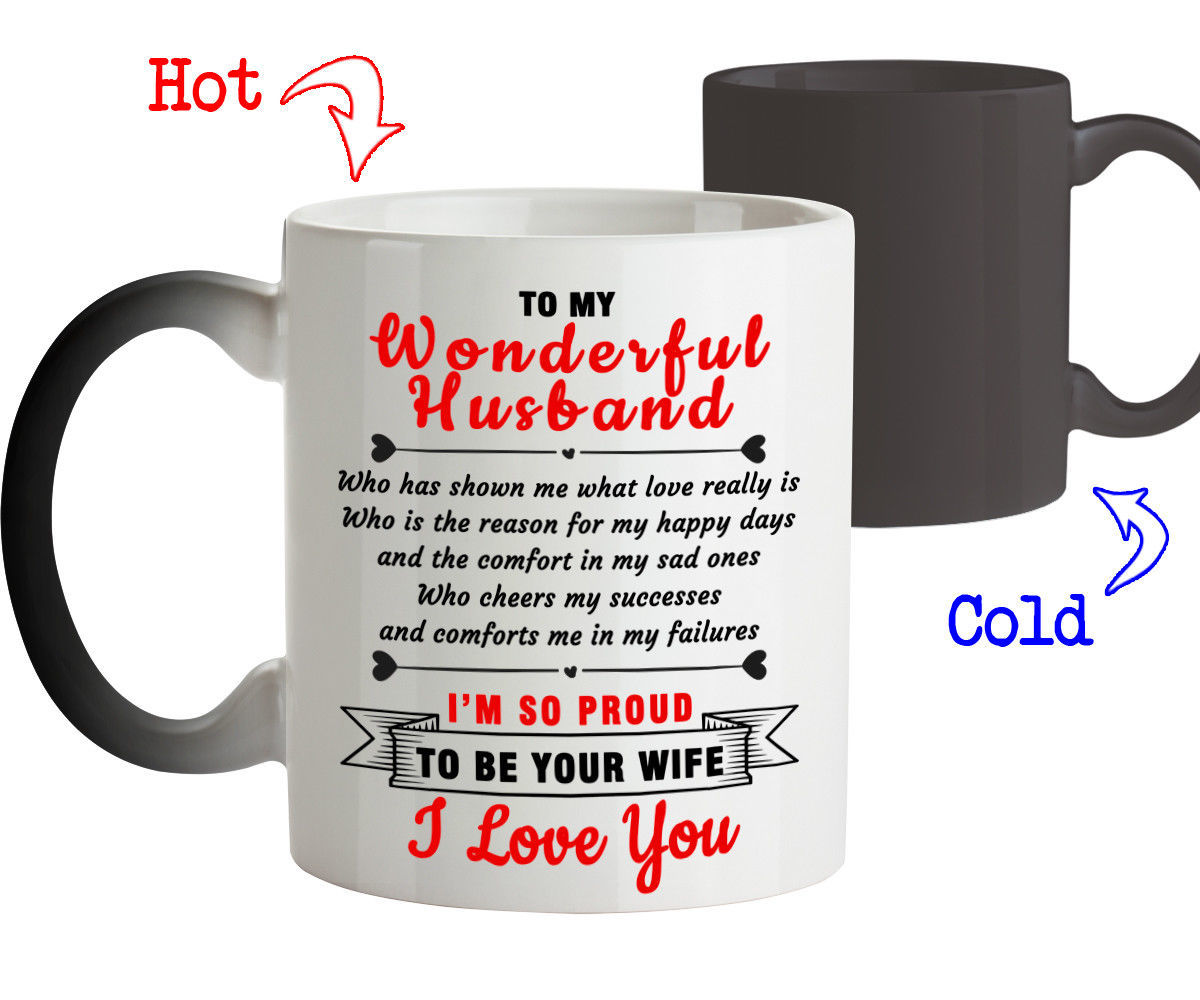 Primary image for To my Wonderful Husband I'm so proud to be Your Wife-Best Gift for Husband Mug