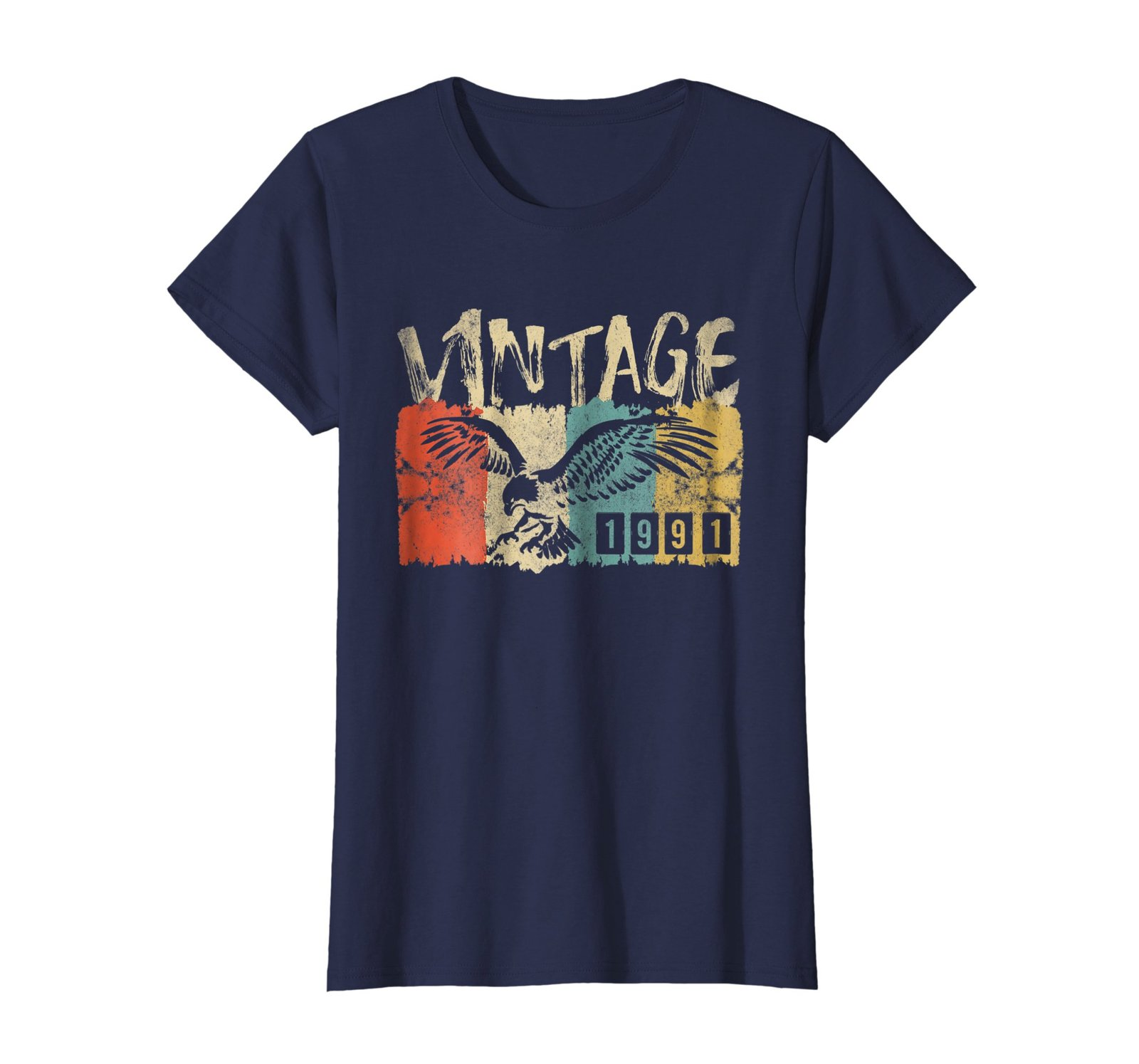 Funny Shirts - Vintage Retro Genuine Made In 1991 27th Birthday Gift 27 yrs Wowe image 4