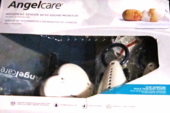 Baby Movement Sensor & Sound Monitor 2 Parent AngelCare AC-201-2P MSRP $99.95 - $46.00