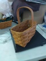 Longaberger Fixed Handle Candle Basket - 1999 - $7.31