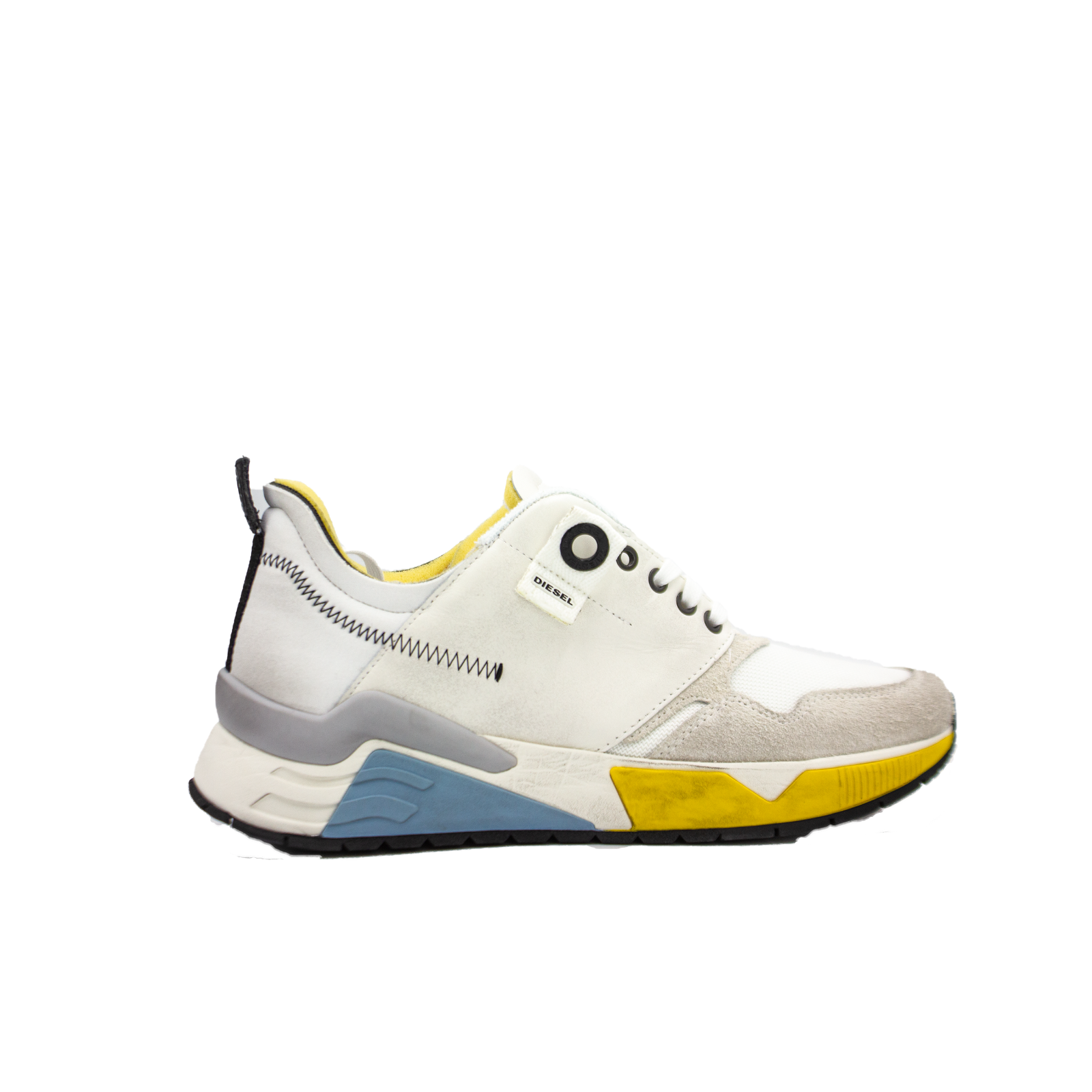Primary image for DIESEL S-Brentha LC Mens Star White Fashion Sneaker Size 10