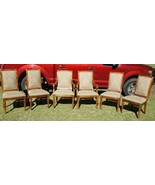 Ethan Allen Townhouse Collection 6 Dining Room Chairs includes 2 Captain... - $1,473.82