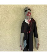 Morphsuits Uomo Medio Monster Full Body Suit Sangue Macchie Creeper Elas... - $25.97