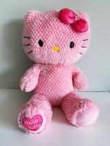 "Build A Bear Hello Kitty Pink Valentine's Hearts 19"" Plush 2013 BAB - $53.20"