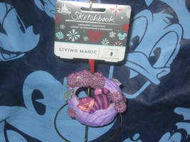 DISNEY SKETCHBOOK ORNAMENT THE CHESHIRE CAT NEW  - $34.64