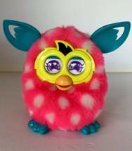 2012 Furby Boom Pink White Polka Dot Talking Hasbro Interactive Tested Working - $28.45