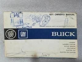 Buick Lesabre Estate Wagon Centurion Electra 1971 Owners Manual 14755 - $19.75