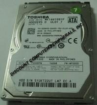 "160GB 2.5"" SATA MK1661GSYF 7200RPM HDD2F64 9.5mm Hard Drive Tested Good - $24.45"