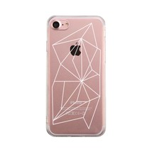 Geometric Pattern Phone Case Cute Clear Phonecase - $9.99