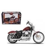 2012 Harley Davidson XL 1200V Seventy Two Red 1/12 Diecast Motorcycle Mo... - $29.35