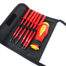 7Pcs Insulated Screwdriver 1000V High Voltage Resistant Electrician Hand... - $371,20 MXN