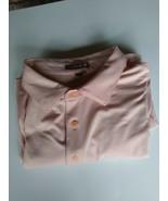 Men's golf shirt size XXL orange and white by Peter Millar short sleeve ... - $40.00