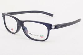 Tag Heuer 7606 007 Track Matte Black Eyeglasses 7606-007 54mm - $273.42