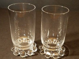 Elegant Imperial Glass CANDLEWICK Footed Juice Tumblers No.400/19 5 oz L... - $14.50