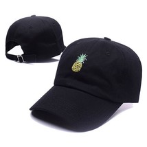 Hot Selling Men Women Pineapple Dad Hat Baseball Cap Polo Style Unconstr... - $13.83
