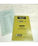 Manual for  B+K PRECISION 280 Digital Multimeter Operation (a14) - $7.92