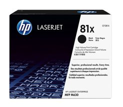 Genuine HP 81X (CF281X) Black Original Toner Cartridge Bin: 1 - $242.99
