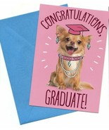 Congratulations Graduate Wishes Greeting Card Dogs Lovers - $6.11