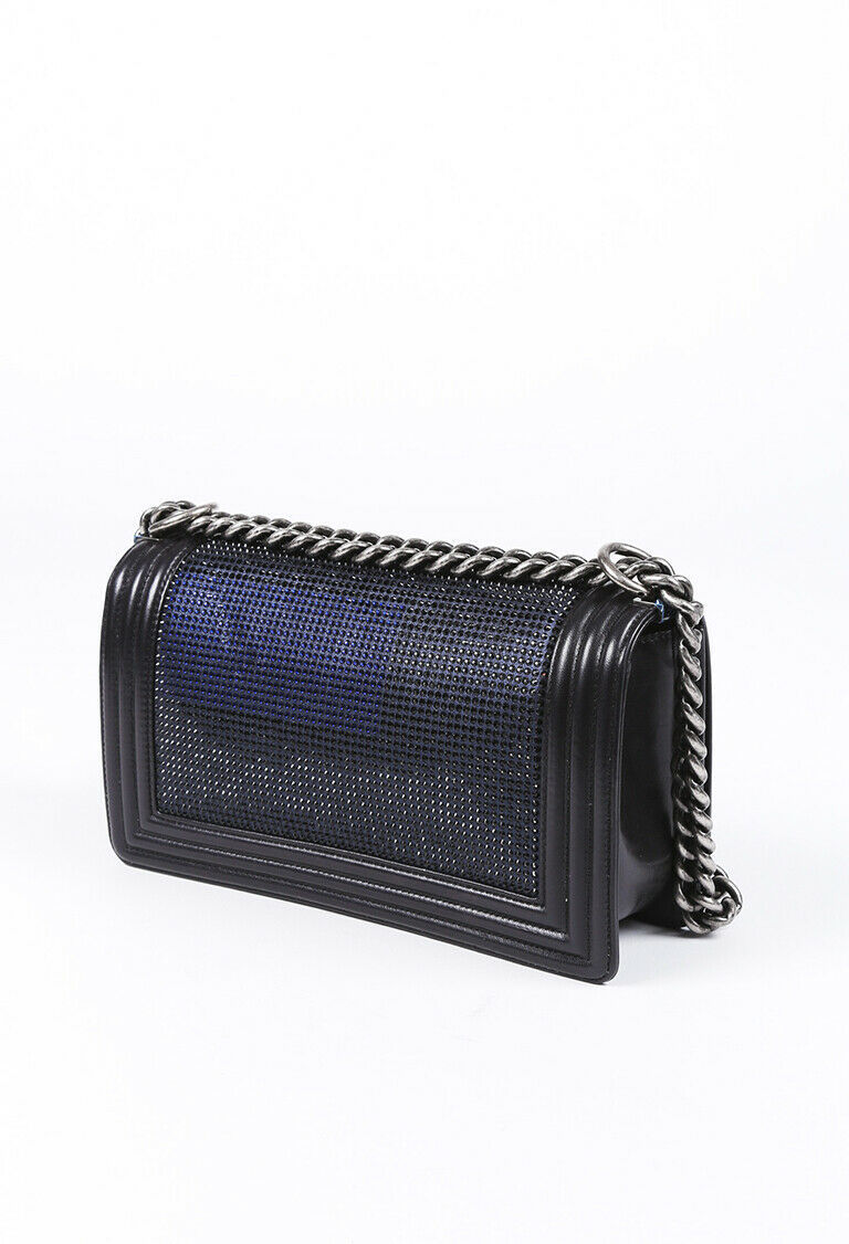 Chanel Medium CC Crystal Boy Bag
