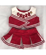 Build a Bear Clothes Clothing Red Cheerleader - $11.21