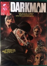 DARKMAN #1 (1990) Marvel Comics B&W magazine VG+/FINE- - $14.84