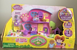 NEW Cabbage Patch Kids Little Sprouts Lil' Patch Vet Center Play Set - $14.84