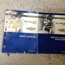 2003 Harley Davidson FLT Police Models Service Manual Supplement & Parts... - $262.35