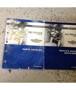 2003 Harley Davidson FLT Police Models Service Manual Supplement & Parts... - $262.35
