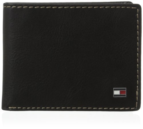 Tommy Hilfiger Men's Logan Passcase, Black, One Size