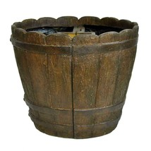 Garden Beautification Tool in Round Cast Stone Mailbox Planter in Barrel... - $127.03 CAD