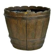 Garden Beautification Tool in Round Cast Stone Mailbox Planter in Barrel... - $94.41