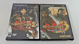 Onimusha 2 & 3 both good shape tested PS2 (Sony PlayStation 2, 2002) - $19.95