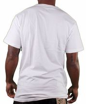 LRG Lifted Research Group Mens White or Black Smoking Panda Lettuce T-Shirt NWT image 5