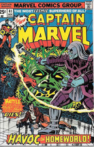 Captain Marvel Comic Book 41, Marvel Comics 1975 VERY FINE+ - $19.27