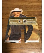 Alan Jackson & The Wrights 2005 Your Promotional Cutout Poster - $20.00