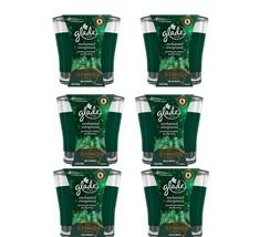 9 GLADE ENCHANTED EVERGREEN  SPARKLING FIR /& HOLLY BERRY 3.4 CANDLES NUTCRACKER