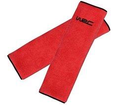 PANDA SUPERSTORE Red Seat Belt Shoulder Seat Belt Pad Seat Padding Belt Car Seat