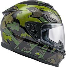 2X Fly Racing Sentinel Ambush Motorcycle Helmet Camo/Green/Grey DOT & ECE  image 5