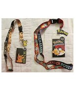 Pokemon Pikachu and Multi-Character Lanyard 2-Pack of Badge Holders - $17.59