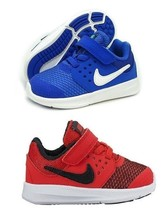 NIKE Downshifter 7  Toddler University Red or Blue Athletic Sneakers - NIB - $41.79