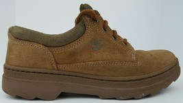 Timberland Women's Size 7 M Brown Suede Leather Lace Up Oxfords 64345 0609 EUC - $60.44 CAD