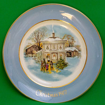 1977 Avon 5th Edition Christmas Plate By Enoch Wedgwood (England) - $3.95