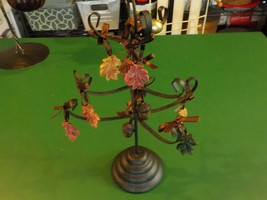 Pier 1 fall metal tree with attachments  (SM) - $7.69