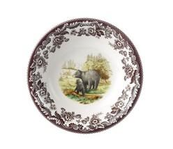 Spode Woodland American Wildlife Black Bear Cereal Bowl - $42.73