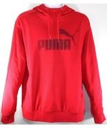 PUMA P48 CORE HOODY MEN'S RED FLEECE HOODIE #590104-55 - $39.99
