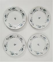 "Johann Haviland Blue Garland Salad / Bread Plates 6-1/4"" Butter Plate Set of 4 - $24.40"