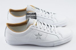 Converse One Star Leather White Sand  Size 9 UK 44 EU 10 US Mens 153700C New - $83.39