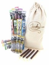 Extra Mile Gift Bag - 20 Meat Sticks in an Old Fashioned Iron-Branded Ca... - $38.08