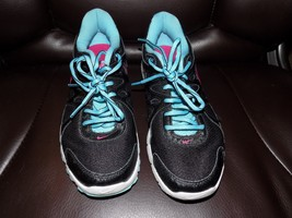 NIKE REVOLUTION 2 Women's Running Shoes Black Blue Pink 554900-019 Size ... - $32.00